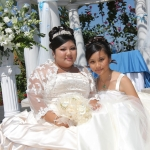 bride-and-flower-girl